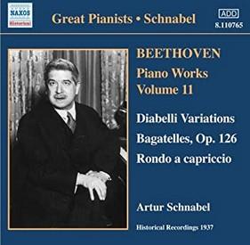 ベートーヴェン:ピアノ作品集 11 「ディアベリ変奏曲集」他(シュナーベル)