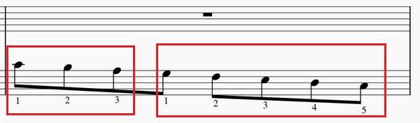 ドレミファソラシドの練習法左手下降